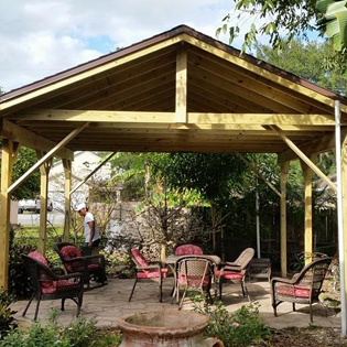 Contact Choppers Handyman Services - Gazebo Construction